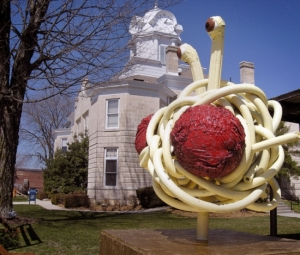 q-photo-flying-spaghetti-monster-sculpture
